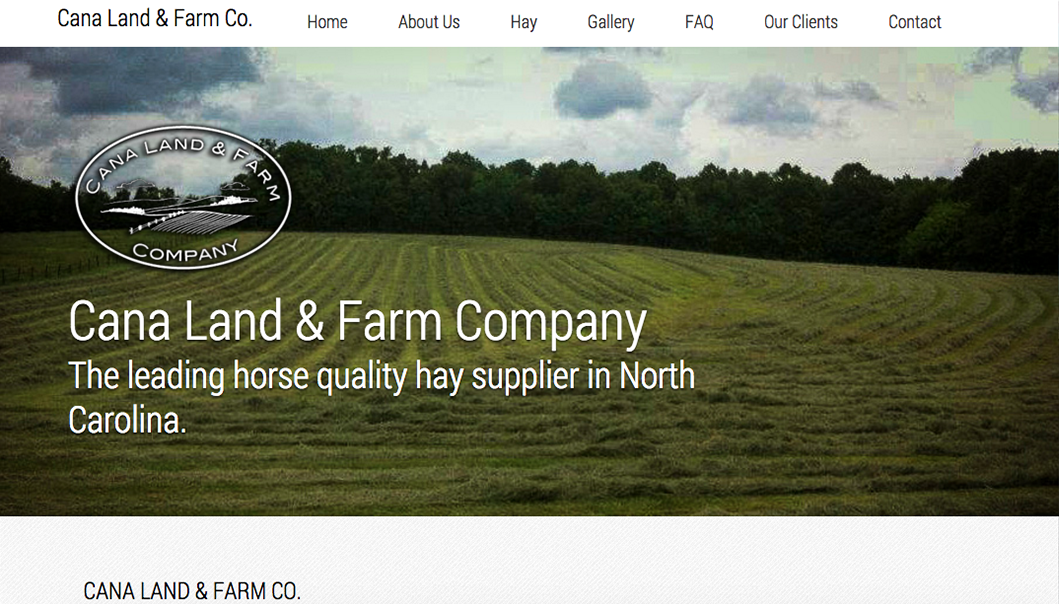 Cana Land and Farm Website