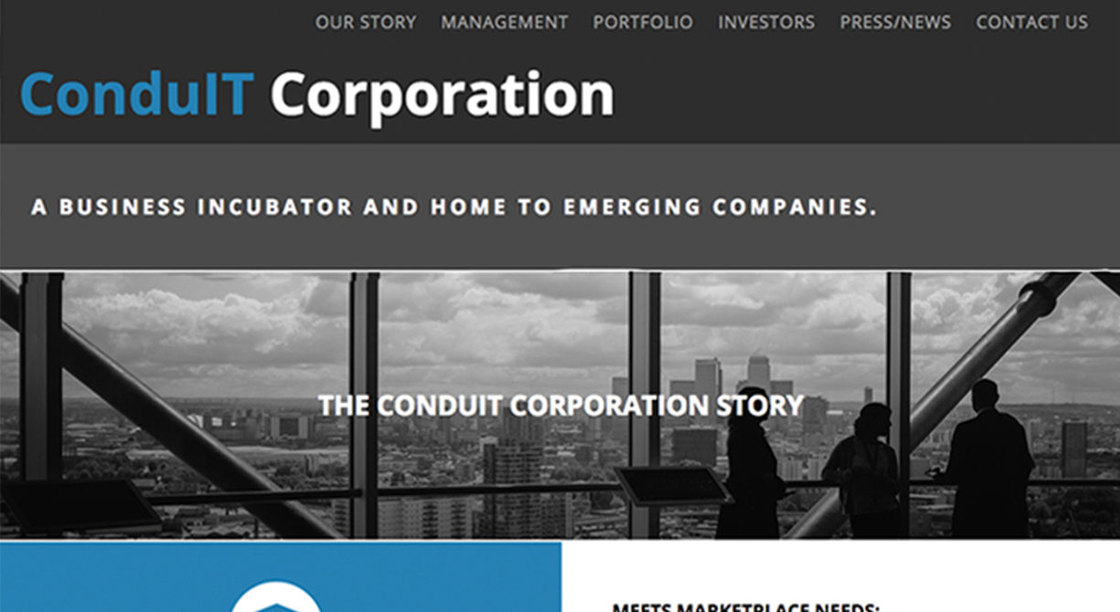 Conduit Corporation Website